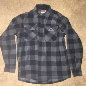 Men's wrangler plaid shirt